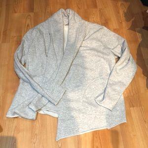 Athleta French terry shawl neck cardigan